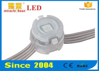 China 20mm DC 12V Digital RGB LED Pixel Light For Shopping Mall  , LED Pixel String supplier