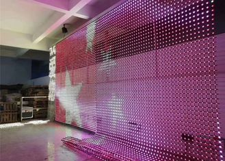 Outdoor Flexible Led Display Background Curtain Video Mesh LED Screen