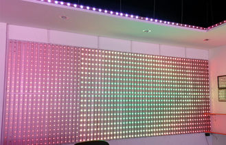 China Waterproof LED Programmable Display 30MM Building / Bar Decoration supplier