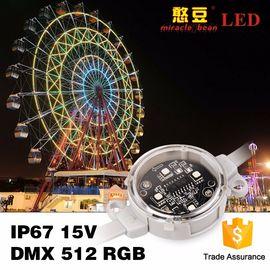 China Building Lighting 40mm 50mm DC24V Waterproof rgb LED pixel Light distributor
