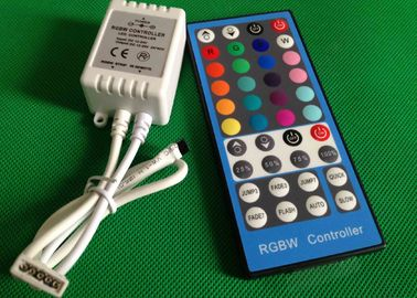 China 44 Key Wireless Remote RGBW LED Light Controllers For LED Strip CE ROHS factory