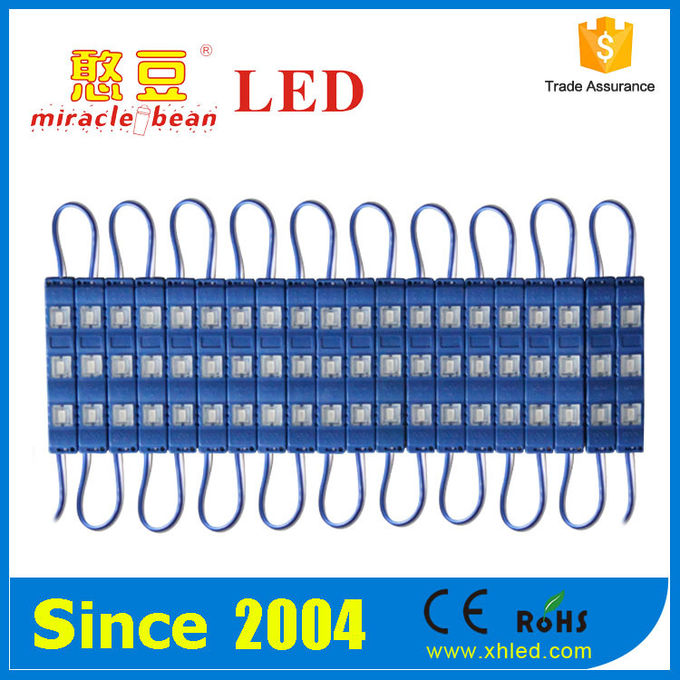 Red Epistar 30mm Outdoor LED Point Light 5730 LED Sign Module 100LM/W
